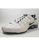 Nike Womens Shoes Shox NZ EU 488312 111 Running Leather White Sz 11.5 Rare - $99.00