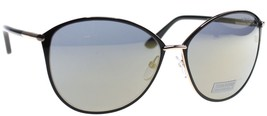 Tom Ford Penelope Black Gold / Gray Mirror Sunglasses TF320 28C - $234.22
