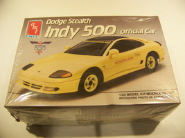 DODGE STEALTH INDY 500 OFFICIAL CAR MODEL AMT ERTL #6806 1991 NEW IN BOX - $13.49