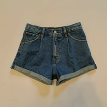 Abercrombie and Fitch Annie High Rise Denim Shorts Women's 25/0 Cuffed M... - $23.33