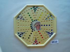 WAHOO WA HOO BOARD GAME  15 x 15 inch.  Octagon.  6 player with images. ... - $40.54
