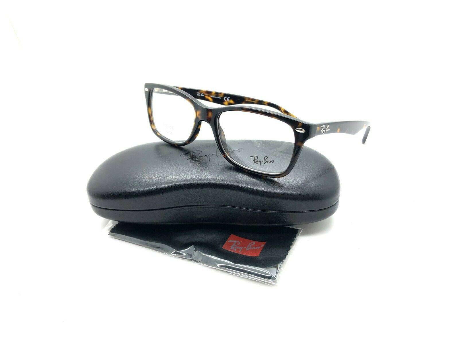 Ray Ban Eyeglass Frames RB 5228 2012 Tortoise 55-17-140 Full Rim  NEW - $87.27