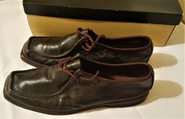 Men's Deer Stags 10.5 Brown Leather Soft Stags - $28.70