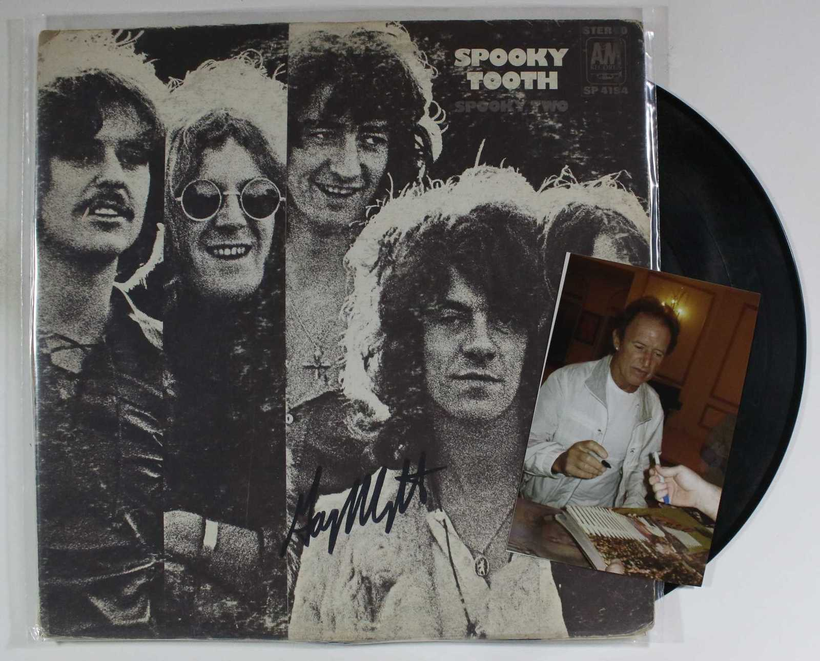 "Primary image for Gary Wright Signed Autographed ""Spooky Tooth"" Record Album w/ Proof Photo"