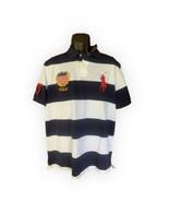 POLO RALPH LAUREN BIG PONY CREST. Navy  Striped  Polo SHIRT Xl NWT - $75.23