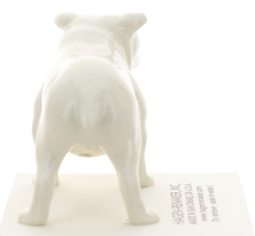 Hagen-Renaker Miniature Ceramic Dog Figurine Bulldog Standing White image 4