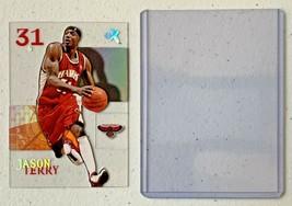 Jason Terry Now/66 #65 Atlanta Hawks Fleer Basketball Card with Hard Case 31G image 2