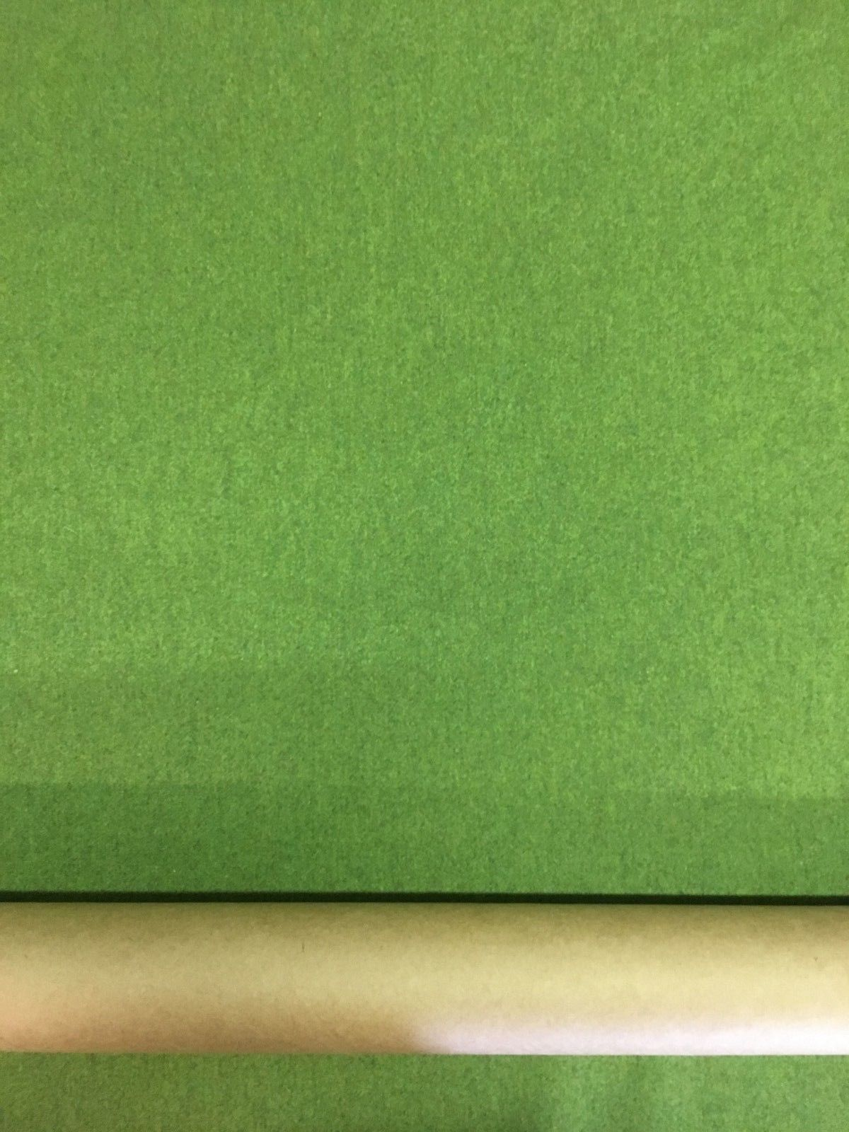 Mid Century Upholstery Fabric Green Woven Wool 1.125 yds Y