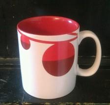 Starbucks Christmas Red Ornaments 2012 Coffee Mug 4 1/2' tall (hwy1) - $6.26