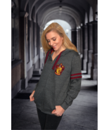 HP129Z Licensed Harry Potter™ Unisex Gryffindor™ Embroidered Zipped Hood... - $49.99