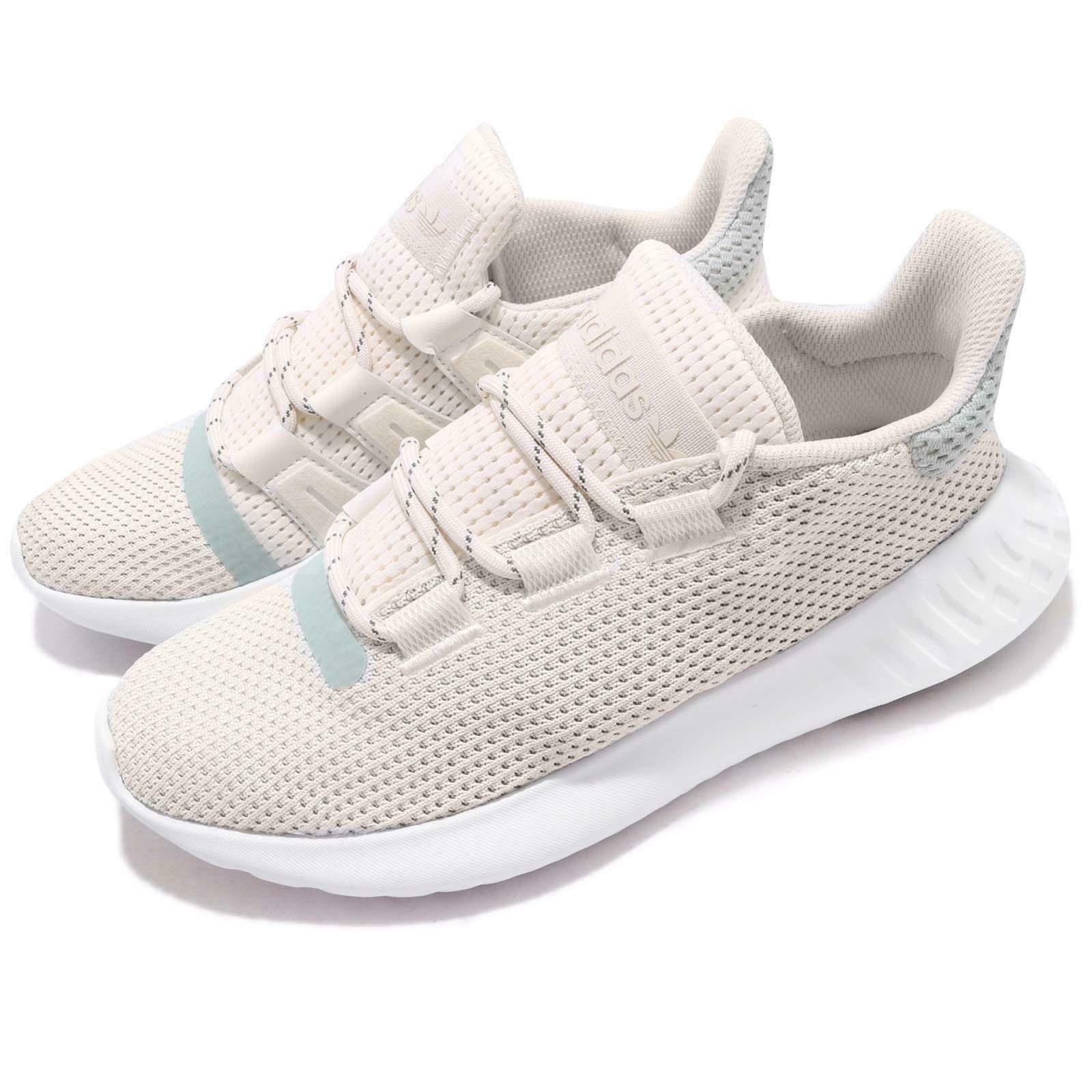 Adidas Originals Tubular Dusk Running Women's Chalk White (B37765)Size:US 8.5