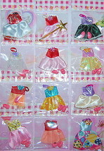 10 Clothes & 10 Pairs Shoes For Kelly Doll / Barby - $9.47