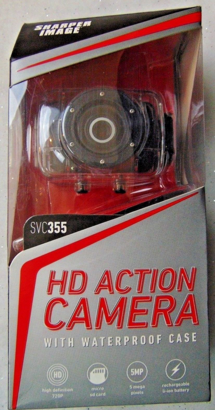 The Sharper Image Hd Action Camera Svc 355 And 8 Similar Items