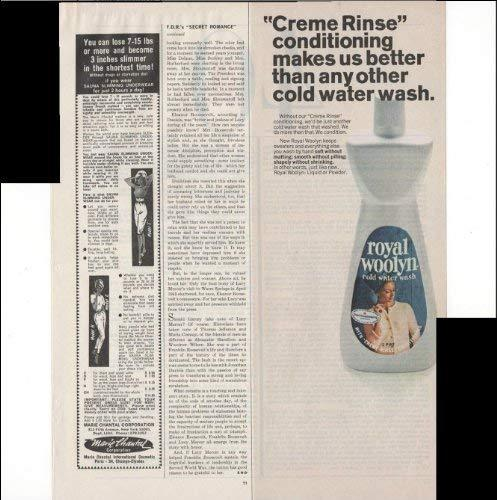 Primary image for Royal Woolyn Cold Water Wash Laundry Home 1966 Vintage Antique Advertisement