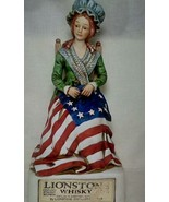 Betsy Ross 1975 Empty Whiskey Decanter - $32.67