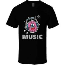 Monster Music Head Phones T Shirt image 4