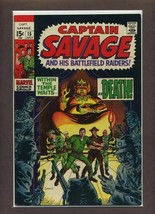Capt. Savage and His Leatherneck Raiders #15 VF 1969 Marvel Comic Book - $8.24