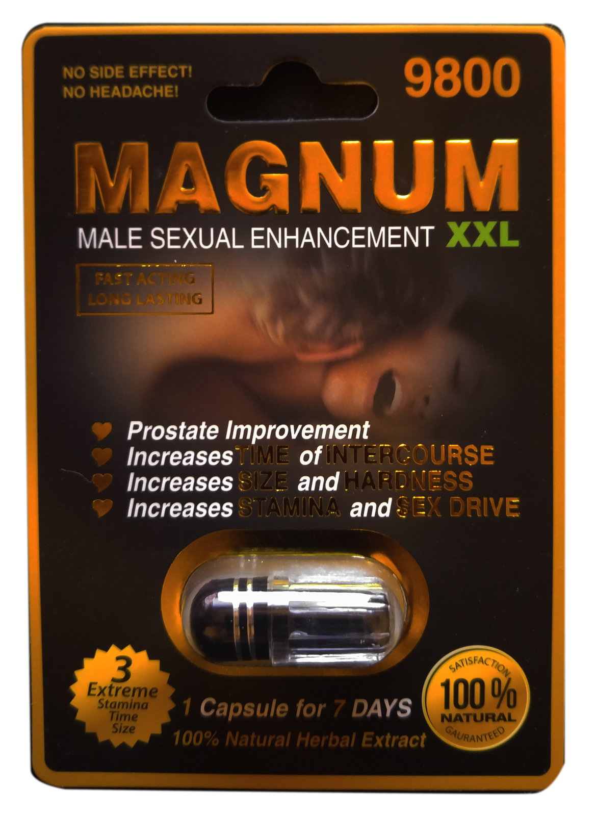 Sexual performance enhancement natural