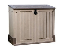 Patio MIDI 30 cu.ft. Outdoor Resin Horizontal Storage Shed - $166.76
