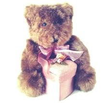 Dan Dee Collector's Choice Plush Bear 7″ Gift Box Jewelry Ring Valentine... - $14.45