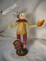 Spun Cotton Thanksgiving Native Boy Vintage by Crystal Brown Pants image 1