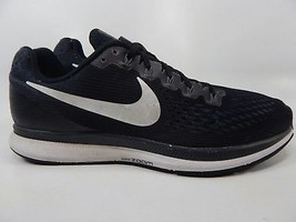 Nike Air Zoom Pegasus 34 Size 12 M (D) EU 46 Mens Running Shoes Black 880555-001