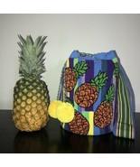 Authentic 100% Wayuu Mochila Colombian Bag Large Size Boho Chic Pineappl... - $125.00
