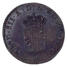 1820 Italian States TUSCANY Quattrino In  C# 53 - $198.00