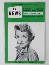 Ronald Reagan Helen O'Connell Vtg TV News Weekly Programs Magazine 1957 ... - $29.65