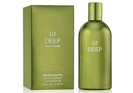 Gap Deep Eau De Toilette Spray for Men 3.4 Ounce - $27.23