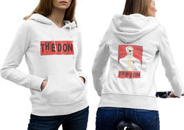 THE DON MAFIA Hoodie Classic Women White - $35.99