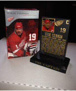 Steve Yzerman #19 Fifth Third Bank SGA Commemorative Plaque w/box NHL Re... - $29.97