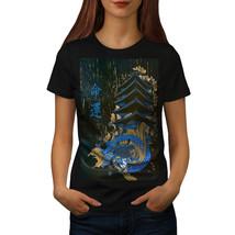 Dragon Myth Japan Fantasy Shirt Chinese Beast Women T-shirt - $12.99
