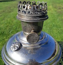Antique Aladdin Model 6 Nickel Oil Lamp - $65.00
