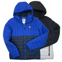 Timberland Men's Puffer Polyester Fill Hooded Jacket A1MZU - $89.99