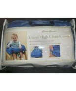 Eddie Bauer Travel High Chair Cover Blue with Zippered Storage Bag - $15.83