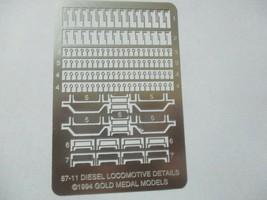 Gold Medal Models # 87-11 Diesel Locomotive Detailing Set HO-Scale image 1