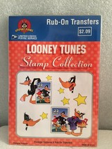 USPS LOONEY TUNES DAFFY DUCK RUB-ON TRANSFERS STAMP COLLECTION -1999- CO... - $6.92