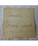 c1929 Autograph BLANCHE YURKA American Film Stage Actress Director Opera... - $19.80