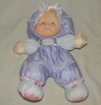 Vintage Fisher Price 1990 Puffalump Kids Doll Plush Lavender Purple Nylon - $39.59