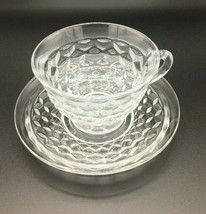 Fostoria American Cup and Saucer Set - $17.82