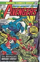 The Avengers Comic Book #143, Marvel Comics Group 1976 VERY FINE+ - $14.26