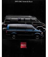 1995 GMC Truck VANS sales brochure catalog SAFARI RALLY 95 US - $8.00