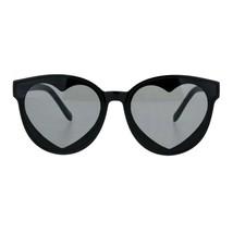 Layered Heart Sunglasses Womens Cute Fashion Round Shades UV 400 - $10.95
