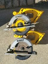 """2 Dewalt DC390 18V 18 Volt Cordless 6 1/2""""Inch Circular Saw (Tool Only) ... - $148.49"""