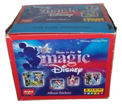 Share in the Magic with Disney Box 50 Packs Stickers Panini - $20.00