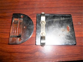 Kenmore 158.120 Slide Plate & Throat Plate (No Screws) Good Condition - $15.00
