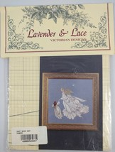 Lavender and Lace Angel of Mercy Cross Stitch Pattern Victorian Designs - $12.86