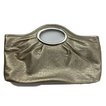 """Gold Hand Bag Women's Purse 8"""" x 13"""" - $9.89"""
