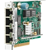 HP 331FLR GigaBit Ethernet Card PCI Express x4 4-Ports 10/100/1000Base-T Interna - $125.56